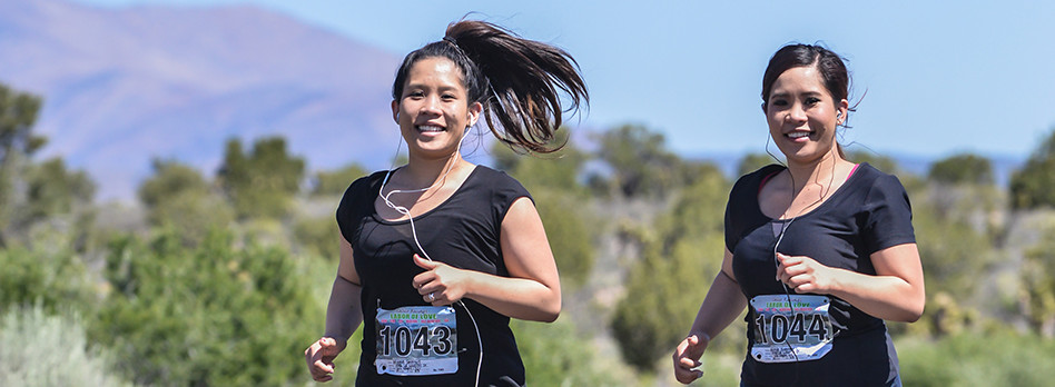 Sunset park girls running